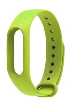 Xiaomi Цветные ремешки Mi Band 2 зеленый